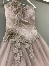 Blush Pink Wedding Dress Veromia Designer Size 10