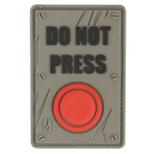 Maxpedition Do Not Press 3d Rubber Morale Patch Airsoft Funny Badge SWAT