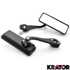 Custom Bull Dog Rear View Mirrors Black For Suzuki Boulevard M109R M50 M90 M95