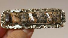 "Antique Scottish ""Jas Mardy of Aberdeen Scotland"" Silver & Granite Pin / Brooch"