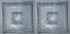 "krystallo serving plate glass square 13"" x 13"" buy 2PCS for P1,200 crazy sale"