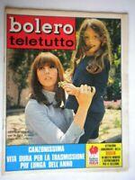 Bolero 1172 Sandrelli Carrà Vergottini Occhini Lojodice Bolkan Pitagora Maurizio