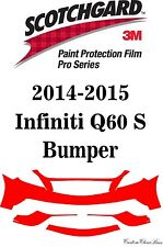 3M Scotchgard Paint Protection Film Pro Series Fits 2014 2015 Infiniti Q60 S