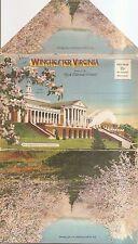 Old postcard folder,Winchester Virginia
