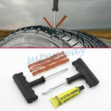 Car Wheel Tubeless Tyre Tire Emergency Puncture Plus Repair Tool Accessories Kit