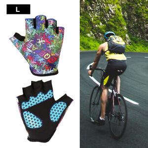Cycling Half Finger Padded Gloves Breathable MTB Bike Racing for Men Women