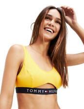 Tommy Hilfiger Cut Out Bralette Bra UW0UW01579 Womens Bralettes Spectra Yellow