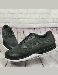 Under Armour Men's Size 11.5 Tour Tips Knit Sl Golf Shoes 3020991-001