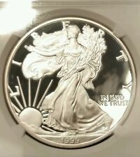 1999-P NGC Silver Eagle Proof, PF 69, Ultra Cameo, w/Original Mint Packaging