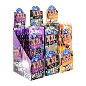 XXL Herbal Variety Pack Wrap Rolling Paper 12 Pouches / 2 Per Pack