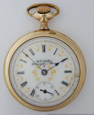 Farmington Iowa Private Label Pocket Watch New listing Fancy Rare Dial Hamilton He Folker
