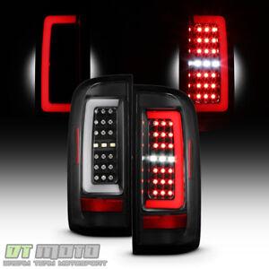 Black 2015-2019 Chevy Colorado Full LED Tube Bar Tail Lights Brake Lamps 15-19