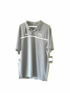 NIKE Dri Fit On Field PENN STATE NITTANY LIONS NCAA mens polo shirt Sz 2XL NWT