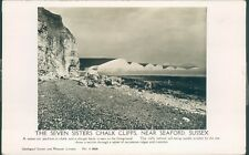 Seaford; chalk cliffs; seven sisters