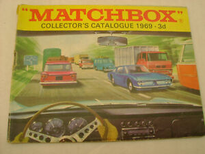 1969 MATCHBOX LESNEY COLLECTOR'S CATALOGUE 3d