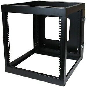 Startech 12U 22In Depth Hinged Open Frame Wall Mount Server Rack Cold-Rolle