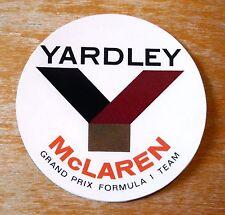 Yardley McLaren Grand Prix Formula 1 Team Racing Motorsport Adesivo Decalcomania