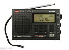 Tecsun PL-600 SSB PLL World Band Radio Receiver FM/MW/SW     BLACK