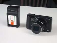 Sony Cyber-shot DSC-H90 16.1MP 16x zoom Digital Camera - Black
