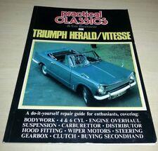 Triumph Herald Vitesse Repair Guide Practical Classics & Car Restorer VGC