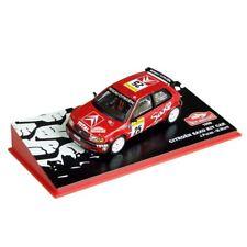diecast 1/43 wrc Citroen Saxo Kit car Puras rally MC 1999 model box altaya