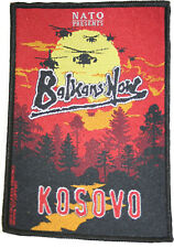 Military Patch Balkans Now Kosovo KFOR NATO