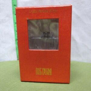 OLEG CASSINI women's perfume bottle French fashion NWT refillable glass