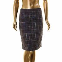 KARL LAGERFELD NEW Women's Wool Blend Tweed Straight Pencil Skirt TEDO