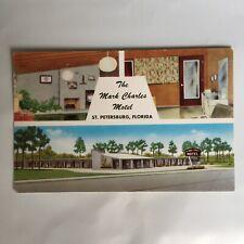The Mark Charles Motel St. Petersburg Florida Unposted Postcard