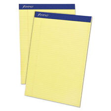 AMPAD/DIV. OF AMERCN PD&PPR Mead Legal Ruled Pad, 8 1/2 x 11, Canary, 50 Sheets,