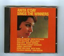 CD ANITA O DAY SINGS THE WINNERS