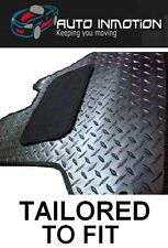 AUDI Q7 06+ 8 CLIPS FITTED CUSTOM MADE TAILORED RUBBER Car Floor Mats HEAVY DUTY