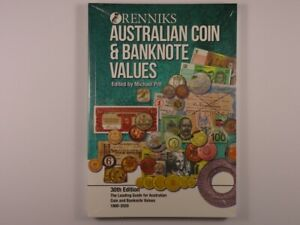 Renniks Australian Coin and Banknote Values Book 30th Edition