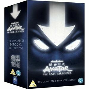 AVATAR THE LAST AIRBENDER COMPLETE 3 BOOK COLLECTION 1 2 3 REGION 4 DVD NEW