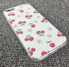 gel morbido scafo stampa motivo fantasia per iPhone 6 - Ciliegie