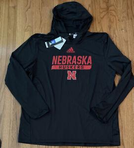 Men's Nebraska Cornhuskers Huskers adidas Training Hoodie NWT XL