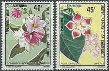 Timbres Flore Cameroun 526/7 ** lot 21260