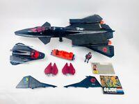 Vintage GI JOE COBRA NIGHT RAVEN 1986 with 2 Pilots Complete Excellent Condition