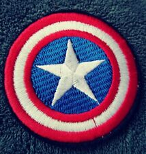 Captain America Shield Patch Marvel Comics