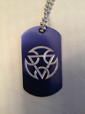 Mortal Kombat Lin Kuei Symbol DOG TAG NECKLACE mortal kombat sub zero