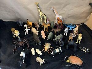 Bundle Of Mixed Plastic Animals