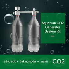 Aquarium DIY CO2 Generator Regulator System Kit Solenoid Bubble Counter NEW F6K1