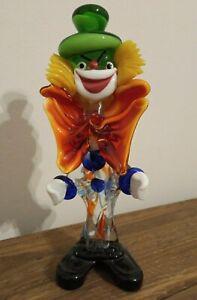 Vintage Murano Glass Clown Decorative Artware