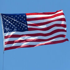 Us Flag Polyester 35' x 59' Usa American Country Flags Stars Stripes Grommets