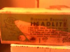 antique burnham brothers headlite usa all most older than dirt hunting