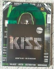 """KISS - RARE GERMAN 7"""" with ROLLING STONE - GREEN VINYL"""