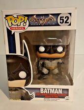 Funko - Batman Arkham Asylum Batman Pop! Vinyl Action Figure #52 New In Box