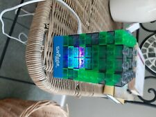 Smiggle Desk/Bedside changing light Lego brick effect