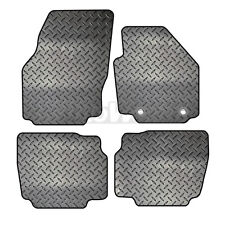 Ford Mondeo MK4 2007 to 2013 Tailored 4 Piece Rubber Car Mat Set 2 Oval Clips