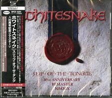 WHITESNAKE-SLIP OF THE TONGUE-JAPAN SHM-CD BONUS TRACK D73